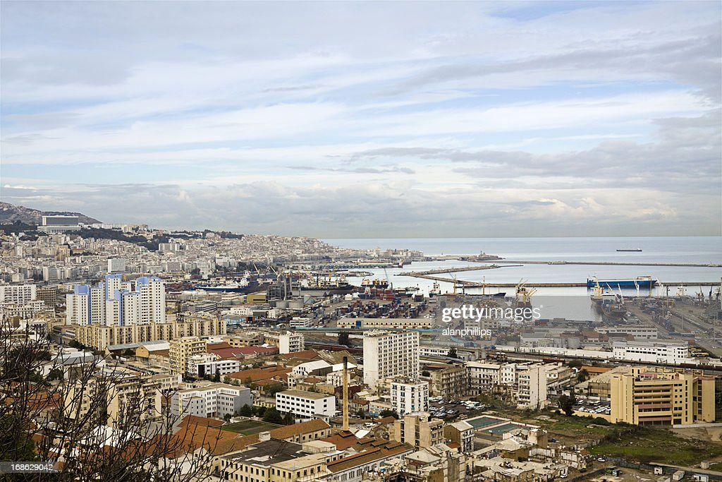 View over the city of Algiers : Stock Photo