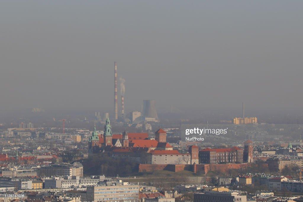 POL: Heavy Smog Hits Krakow