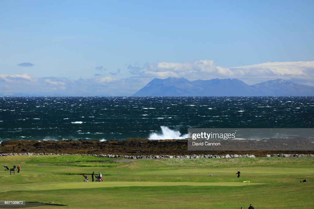 General Views of the Sudurnesja Golf Club : News Photo