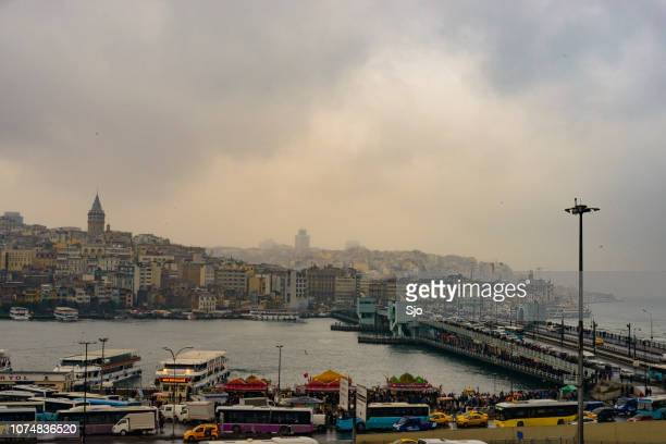 View over the Golden Horn in Istanbul