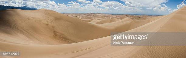 View over the Great Sand Dunes