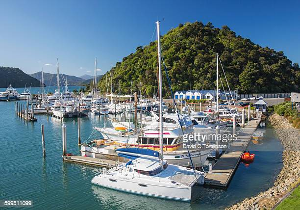 View over the marina, Picton