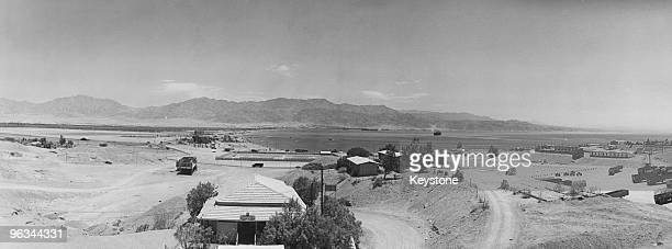 View over the port of Eilat, Israel, 1st June 1967.