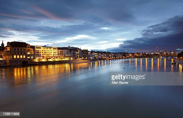 View over the Rhine in Basel