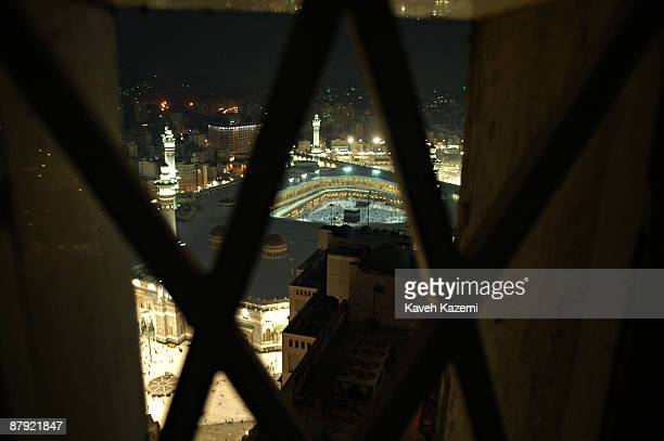 A view over the the Masjid alHaram in the holy city of Mecca Saudi Arabia 28th November 2005