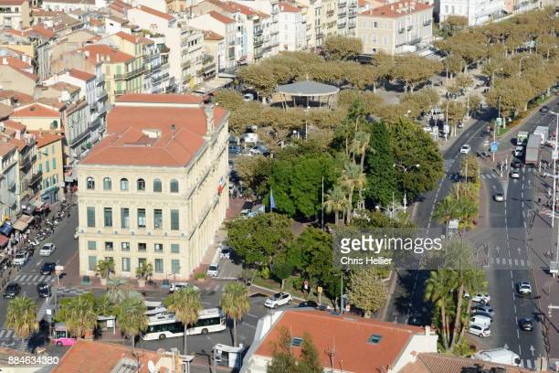 View over Town Hall (1874-77) & Town Square Cannes