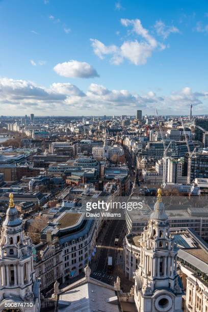 View over West London and St Paul's Cathedral