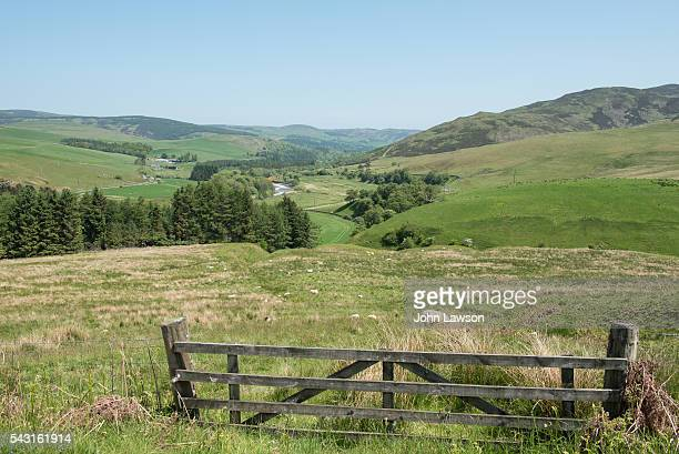 View over Yarrow Valley, Scottish Borders