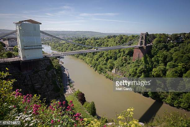 A view overlooking Clifton Suspension Bridge near to where the body of 92yearold Olive Cooke was found on May 21 2015 in Bristol England Olive Cooke...