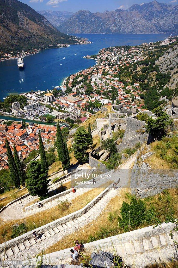 View ovet Gulf of Kotor