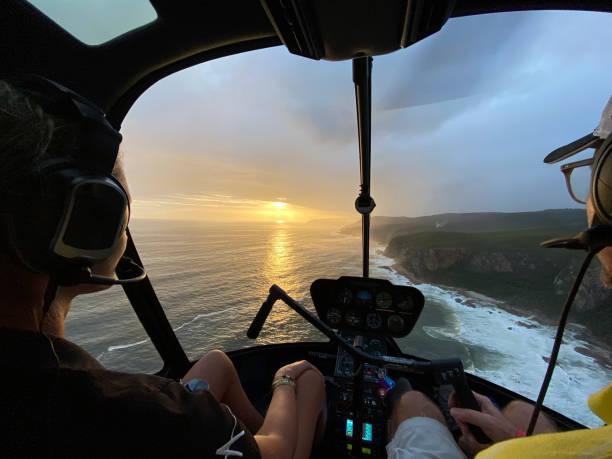 View past female helicopter pilot training copilot midair