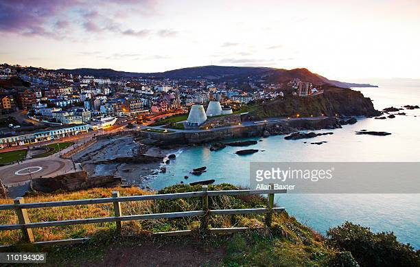view - ilfracombe stock photos and pictures
