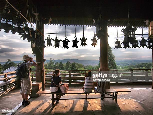 Aussichtspunkt im Nigatsu do Hall