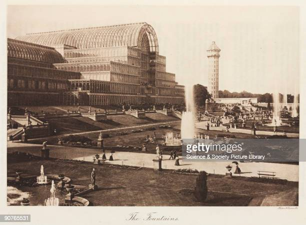 View showing one of two water towers designed by Isambard Kingdom Brunel The south tower was used for a television aerial in the 1930s The Crystal...