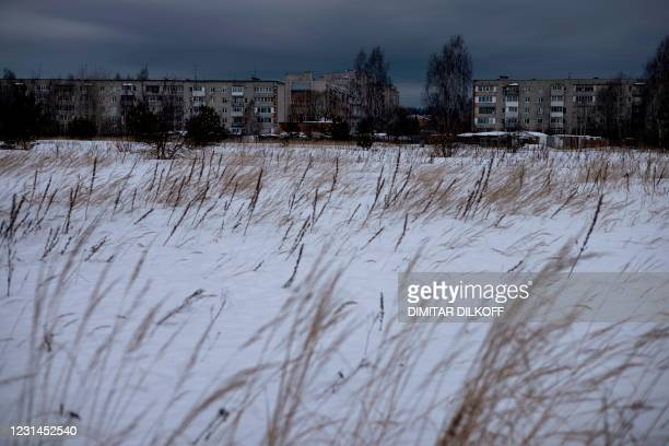 View shows residential buildings near the penal colony N2, where Kremlin critic Alexei Navalny has been transferred to serve a two-and-a-half year...