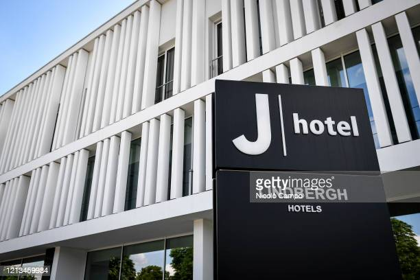 A view shows the Hotel 'J hotel' J hotel is part of the Lindbergh Hotels group and usually host Juventus FC players Serie A plans to resume its...