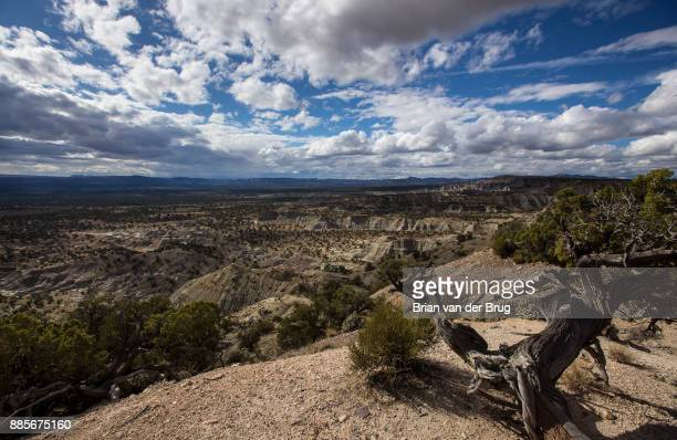 MONUMENT UTAH THURSDAY SEPTEMBER 28 2017 A view south from Death Ridge on Horse Mountain into the Kaiparowits Plateau in the Grand StaircaseEscalante...