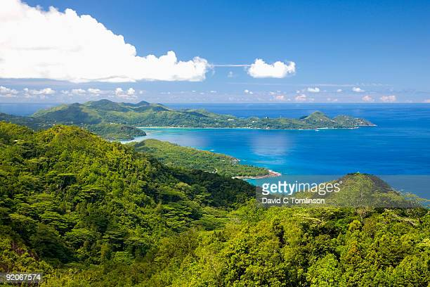View south from the Mission, Mahe, Seychelles