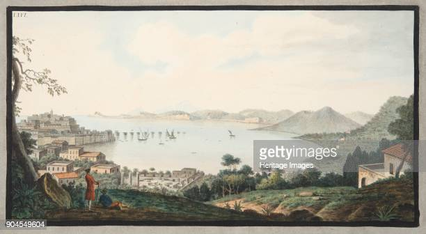 View taken from the spot known as Accademia near Puzzoli Plate XXVI from 'Campi Phlegraei Observations on the Volcanoes of the Two Sicilies' by Sir...