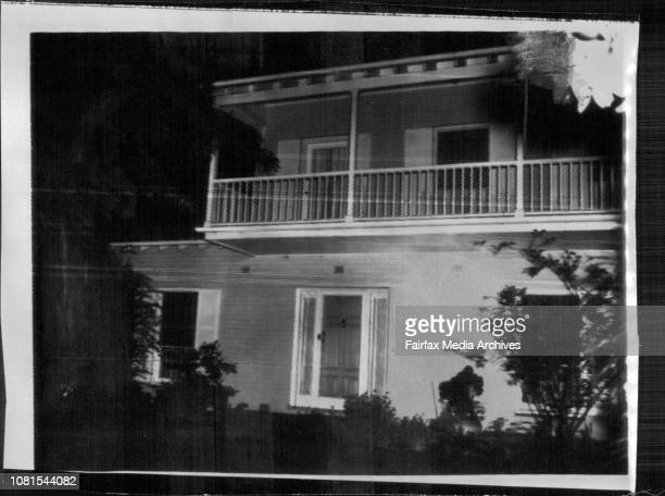 A view taken last night of the house in the Melbourne suburb of Malvern which ***** has boughtSir Robert and Dame Pattie Menies decided to buy the...