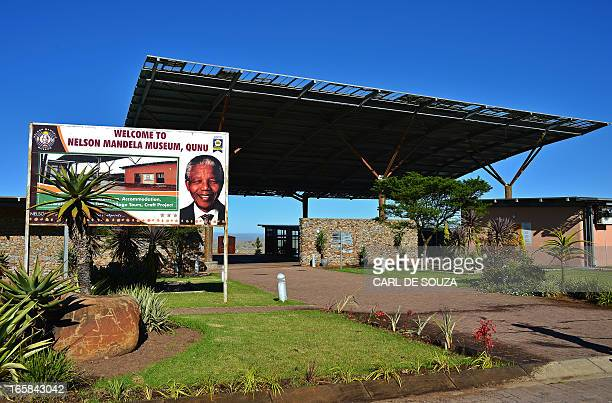 View taken on April 5 2013 of the Nelson Mandela museum in Qunu Eastern Cape AFP PHOTO/Carl de Souza