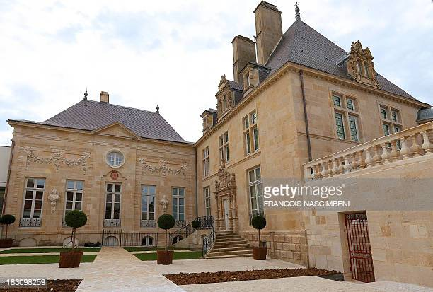 JULIEN A view taken on October 4 2013 in Langres central France of La Maison des Lumieres which will host from October 5 a permanent exhibition on...