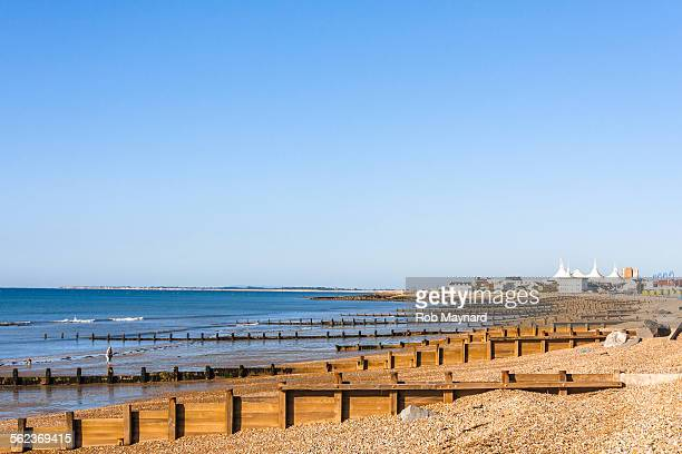 view the butlins holiday - bognor regis stock pictures, royalty-free photos & images