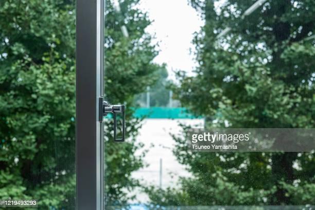 view through the window - penetracion fotografías e imágenes de stock