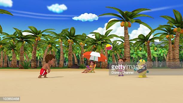 OSO 'A View to a Ball' Special Agent Oso teaches Kaylee how to throw a ball so she can play catch with her brother at the beach This episode of...