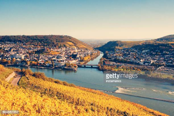 View to Bingen and the Nahe river