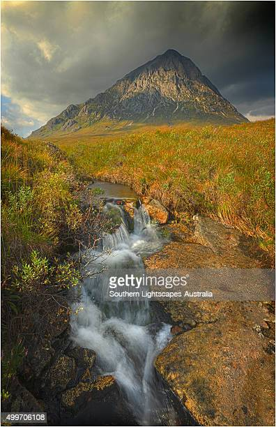 View to Buachaille Etive Mor, in the Western Scottish highlands