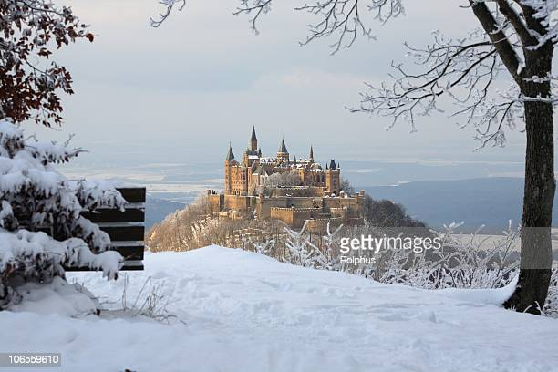 View to Castle Hohenzollern Winter of Hikers