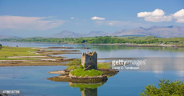 View to Castle Stalker, Argyll & Bute, Scotland