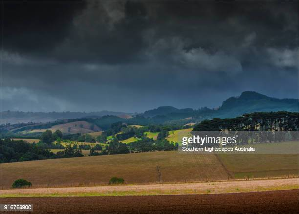 View to Mount Worth, Seaview, Leongatha district, South Gippsland