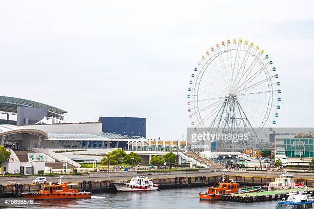 名古屋港の景色をご覧いただけます。 - 名古屋 ストックフォトと画像