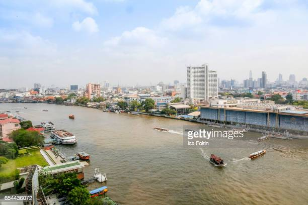View to River City at Chao Phraya River on March 16 2017 in Bangkok Thailand