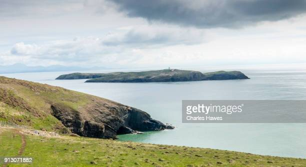 View to St Tudwal's Islands from near Abersoch:Wales Coast Path on the Llyn (Lleyn) peninsula