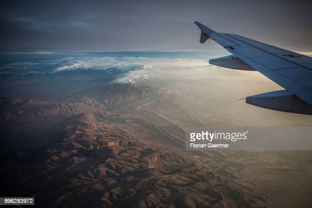 View to the Hindukush mountain on December 20 2017 in MazariSharif Afghanistan