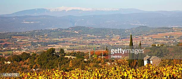 View to the Mont Ventoux from Bonnieux