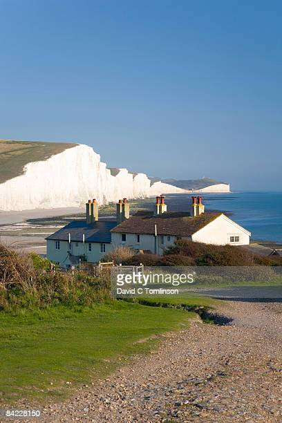 View to the Seven Sisters, Cuckmere Haven, England