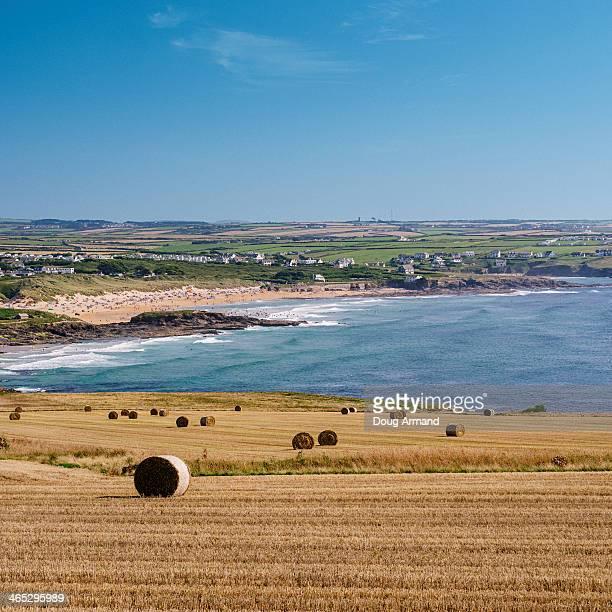 View towards Booby Bay, Cornwall, England