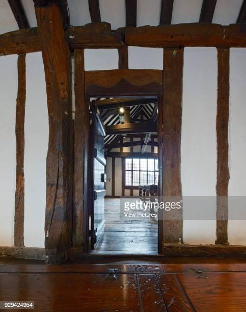 View towards classroom Shakespeare's Schoolroom StratforduponAvon United Kingdom Architect Wright Wright Architects LLP 2016
