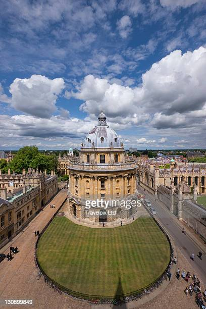 View towards Radcliffe Camera, Oxford,UK