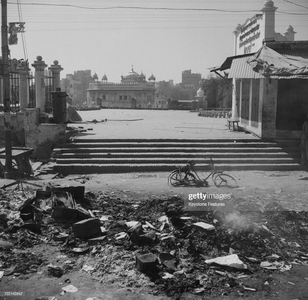 Golden Temple After Riots : News Photo