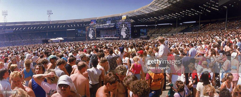 Live Aid Concert : Foto jornalística