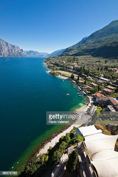 View towards the northern side of Lake Garda