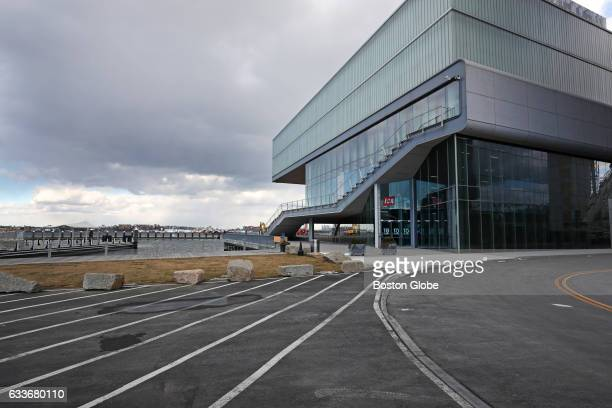 A view towards the waterfront at the Institute of Contemporary Art is pictured in Boston's Seaport District on Feb 2 2017 In new plans for the rest...