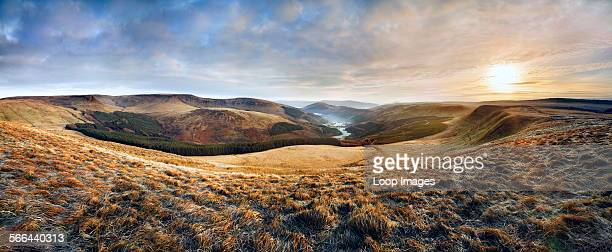 A view up the Glyn Collwn valley in the Brecon Beacons National Park