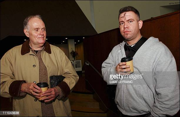 Viewers at the Cinerama Dome Entertainment Center on Sunset Boulevard Los Angeles after screening of Mel Gibson's controversial film 'The passion of...