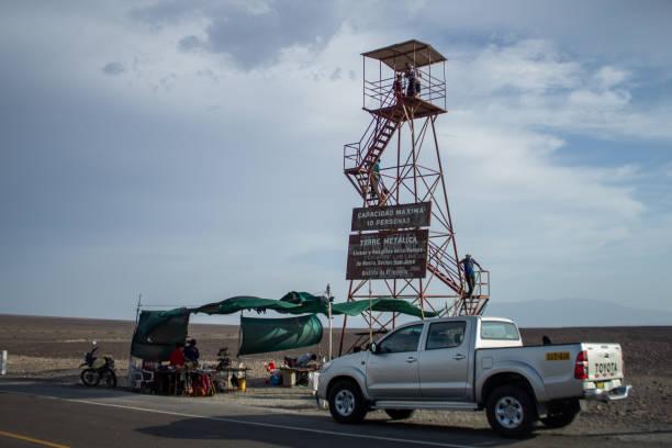 Viewing Tower at Nazca